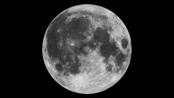 这张照片是由美国宇航局克莱门汀号月球探测器上的恒星跟踪器拍摄的,图像拍摄于1994年3月15日