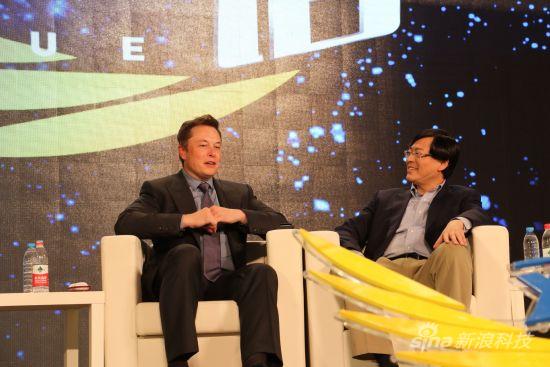 特斯拉创始人伊隆・马斯克(Elon Musk)首次出现在北京参加活动。