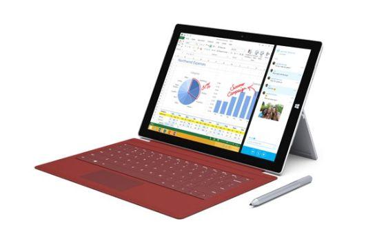 微軟公布Surface Pro 3國內售價 5688元起