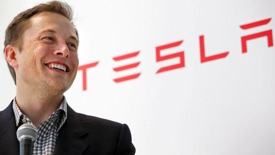 特斯拉汽车CEO伊隆・马斯克