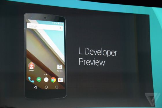 Android L采用全新设计语言