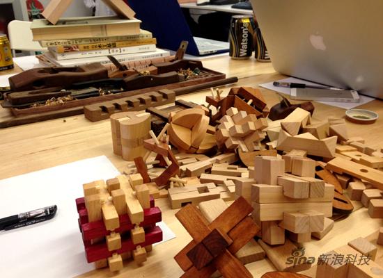 废木条手工diy创意图
