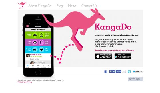 KangaDo:做孩子接送与照看领域的Uber服务
