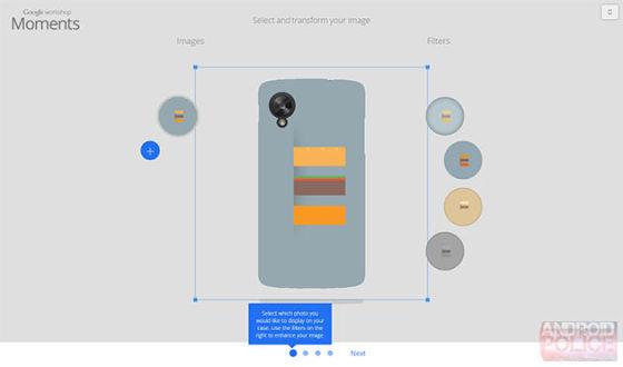 后壳壁纸均可定制 谷歌或推出手机定制服务