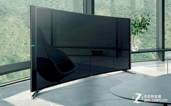 索尼S9000B第二代曲面电视