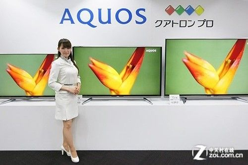 """夏普""""四色技术""""电视产品"""