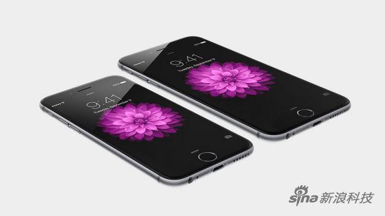 两款大屏iPhone 6