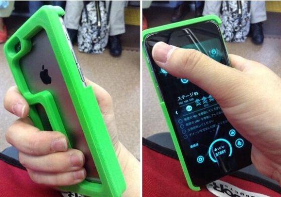 一款解决iphone6掌控难题的手机壳
