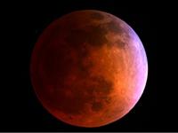 """10月8日月全食上演:部分地区可见""""血月"""""""
