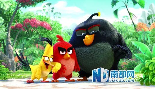 愤怒的小鸟 电影造型曝光 2016年上映