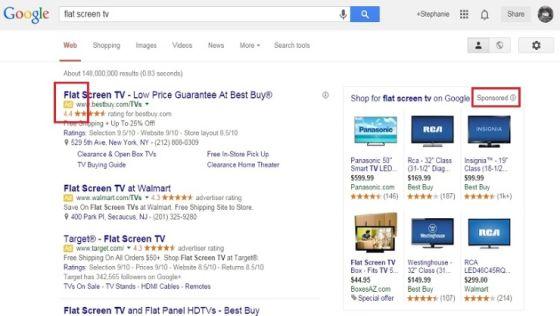 哈佛大学报告称谷歌模糊广告与搜索结果差异