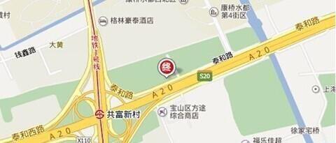 上海1号停车场:上海宝山区蕴川立交桥东980米(沿泰和路)