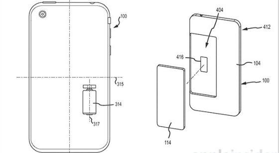 最新披露的iPhone抗摔专利图