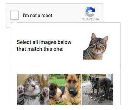 谷歌验证码升级:一键证明自己不是机器人