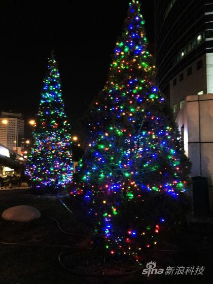iPhone 6 Plus拍温馨圣诞夜