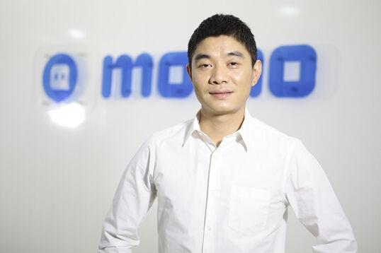 图为陌陌创始人兼CEO唐岩