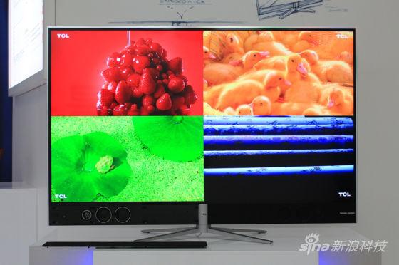 业内首款量子点电视TCL H9700