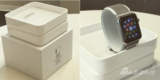 疑似Apple Watch零售包装