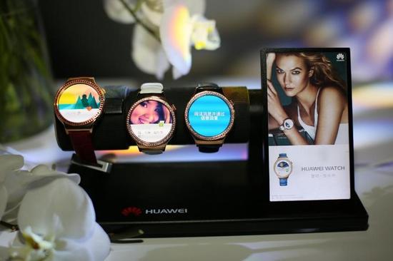 3888起!华为发布高端女性智能手表星月系列