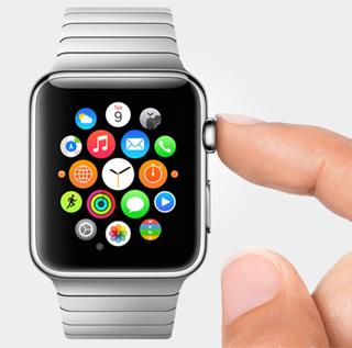 苹果智能手表apple watch官方效果图
