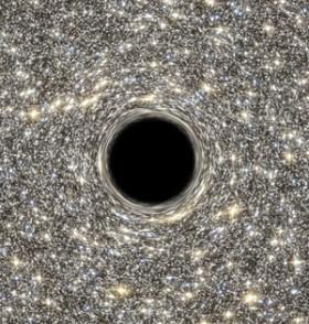 高密星系中心存在特大质量黑洞