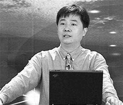 图为:中科院南京地质古生物研究所研究员袁训来