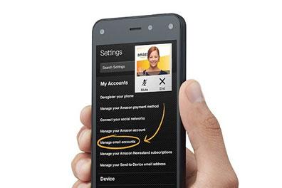 亚马逊发布Fire手机