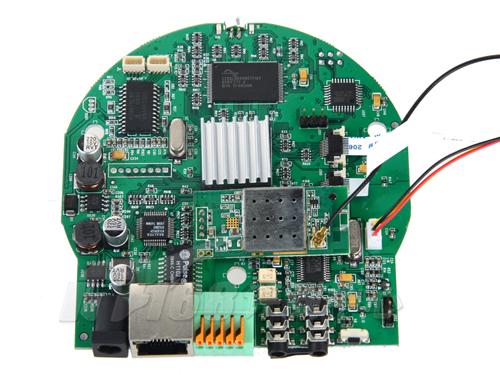 全能监控 环宇飞扬5306网络摄像机拆解