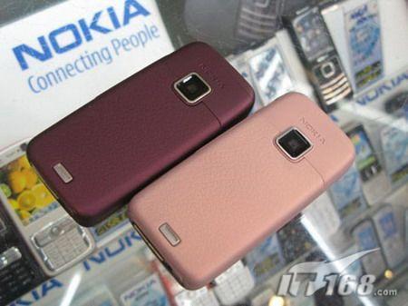 智美双全诺基亚E65粉紫新款闪亮上市