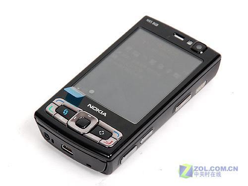 身披一裘黑袍8GB版诺基亚旗舰N95评测