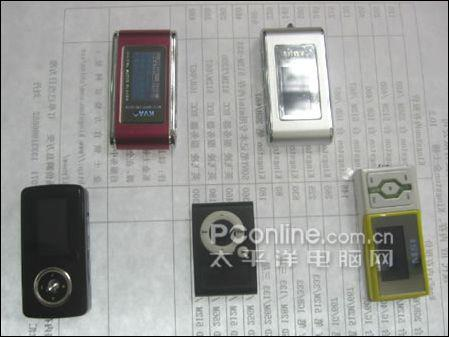 统统199元卖场最廉价MP3播放器大盘点