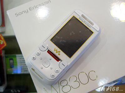 赠送1G记忆棒索爱滑盖音乐W830c破两千