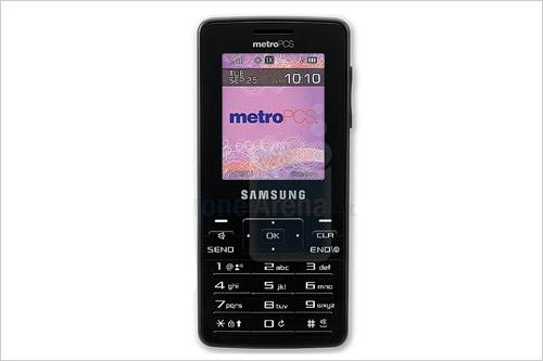 时尚侧滑设计三星推全新CDMA手机R410