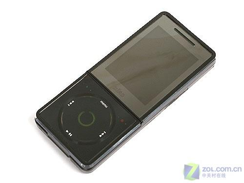 炫酷黑色外观波导学生音乐手机F520评测(10)