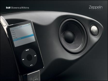 史上最好音质iPod音箱 B&W齐柏林飞艇图赏(