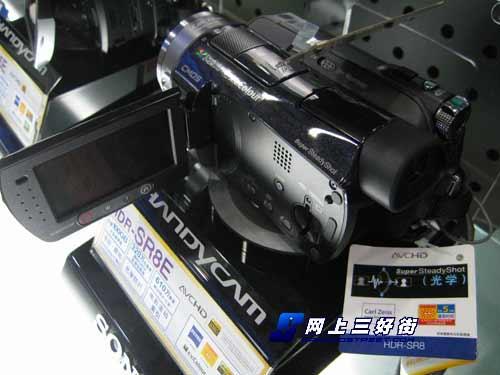 100G容量高清硬盘DV索尼HDR-SR8E降500