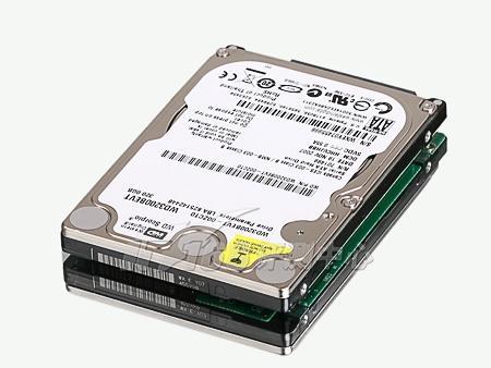 最大容量 西数320gb 2.5英寸硬盘首评(4)