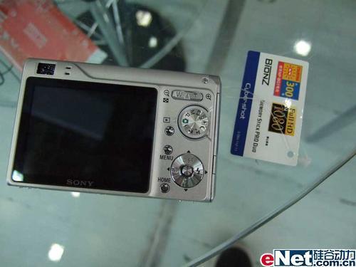 时尚又实惠防抖DC索尼W200送2G棒2120