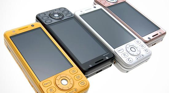 三菱NTTDocomo定制3G手机D905i精美图赏