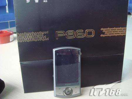 智能旗舰多普达GPS导航手机P860小跌