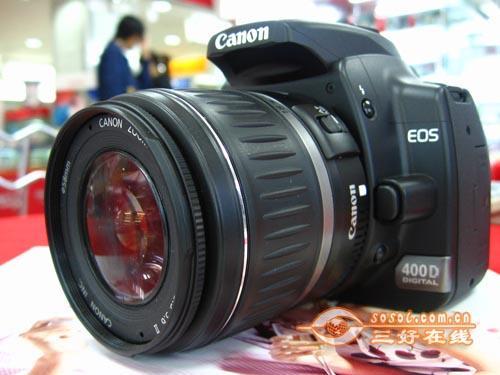 入门级单反相机佳能400D单机售4100元