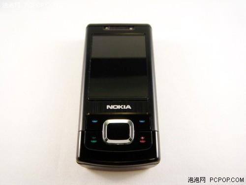 黑色时尚诺基亚拍照手机6500s逼近2000