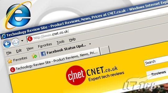 五款网络浏览器评测之IE8篇