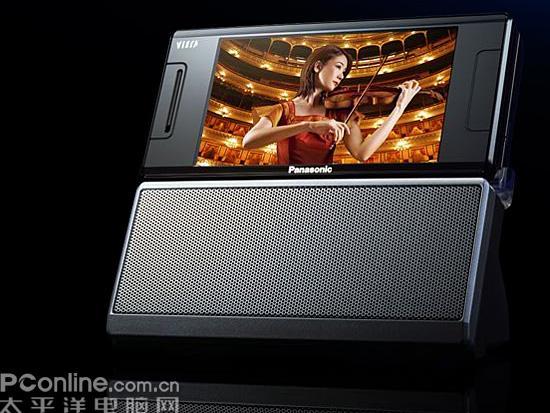 3.5寸超大屏松下电视手机P905iTV图赏