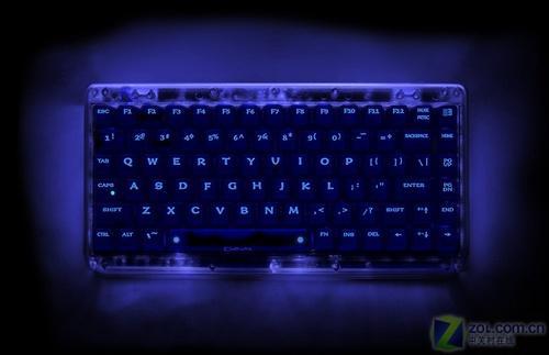 流光溢彩最华丽机械键盘曝光