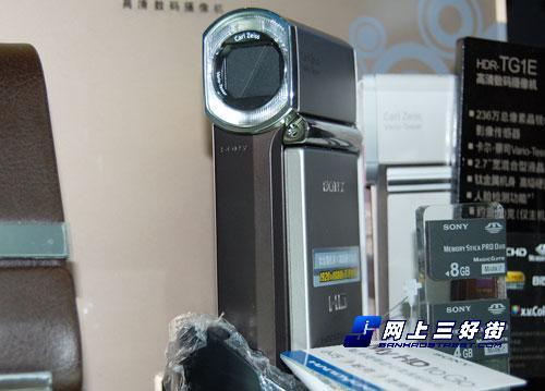 最小巧的高清摄像机索尼TG1促销送4G棒