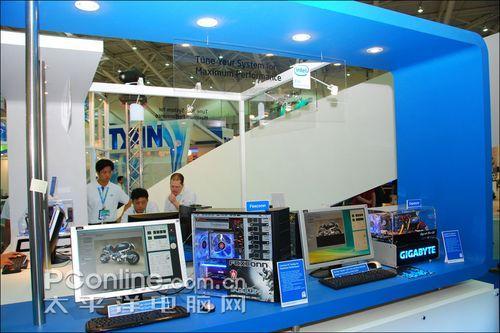 Computex2008:英特尔展台