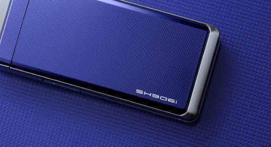 顶级娱乐手机夏普520万像素SH906i欣赏