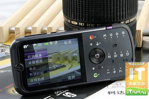 携手柯达摩托罗拉拍照王ZN5详细评测
