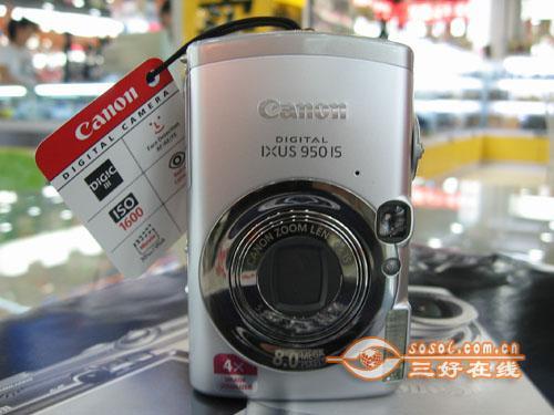 高性价比卡片机佳能IXUS950仅售1900元